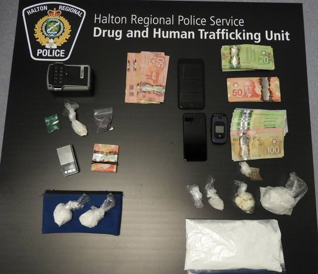April 2020 Drug Investigation Halton Police Oakville