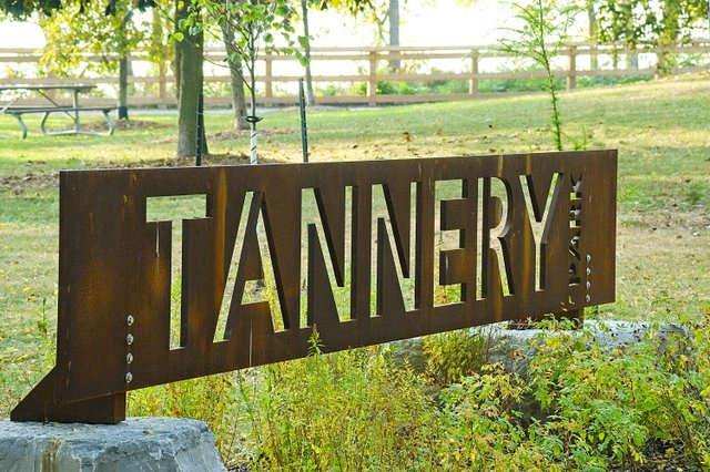 Sign- Tannery Park