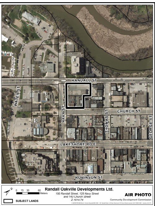 Proposed development at Randall and Navy Streets