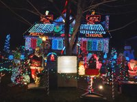 The Jackson Family Light Show is up and running