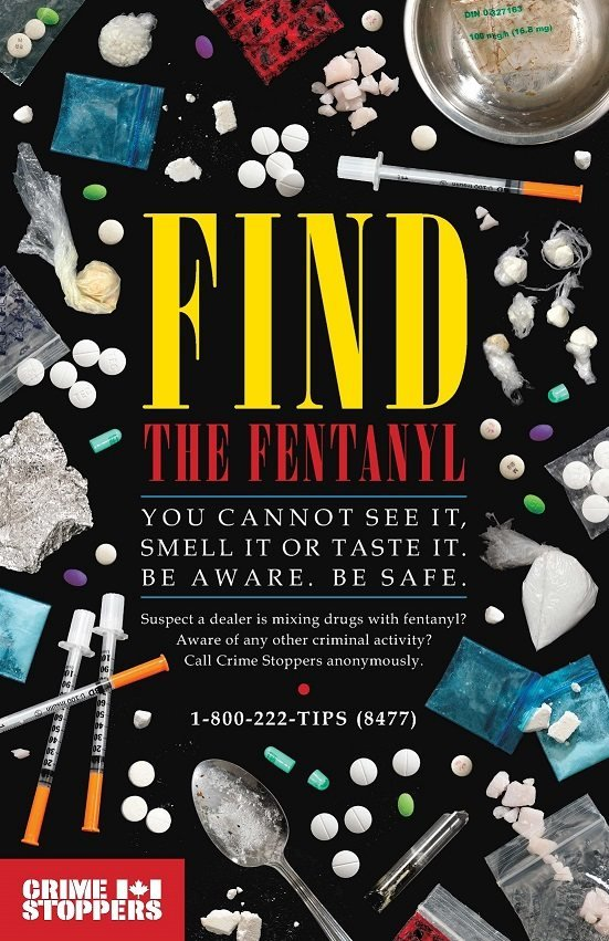 Crime Stoppers Fentanyl PSA