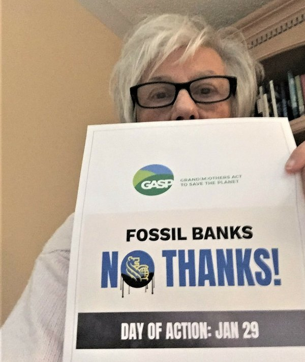 Lorraine Green wants RBC to stop investing in fossil fuels