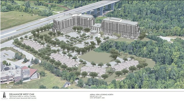 Delmanor proposal for St. Volodymyr lands