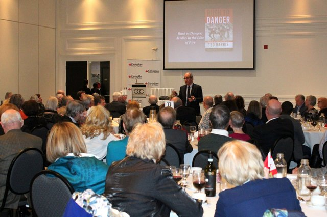 Ted Harris at Canadian Club of Halton on February 20 2020