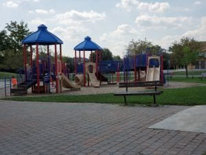 playground outside heritage glen public school