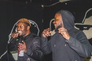 Oakville Rappers performing at a local venue.