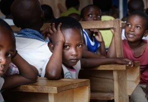 Picture of children in a classroom.