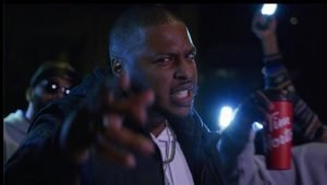Akil McKenzie acting in his music video 'I'm so Toronto.'