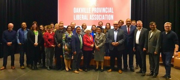 Ontario Liberal Leadership Debate Oakville Co-ordinators