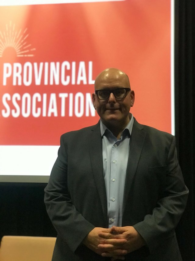 Steven Del Duca, candidate for Leader of Ontario iberal Party.