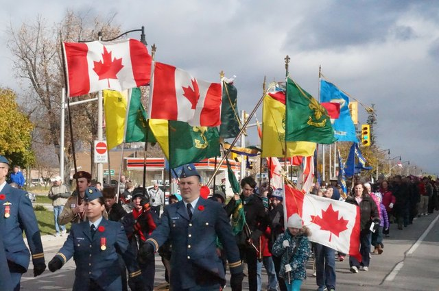 Remembrance Day Ceremonies 2019