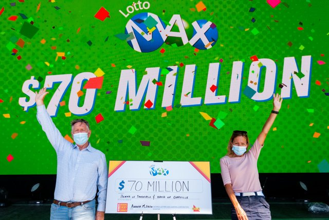 $70 Million Lotto Max Jackpot