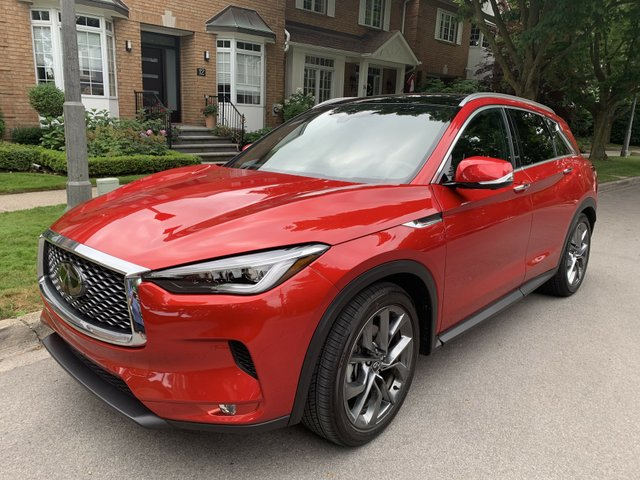 QX50 Infinity 2020 review