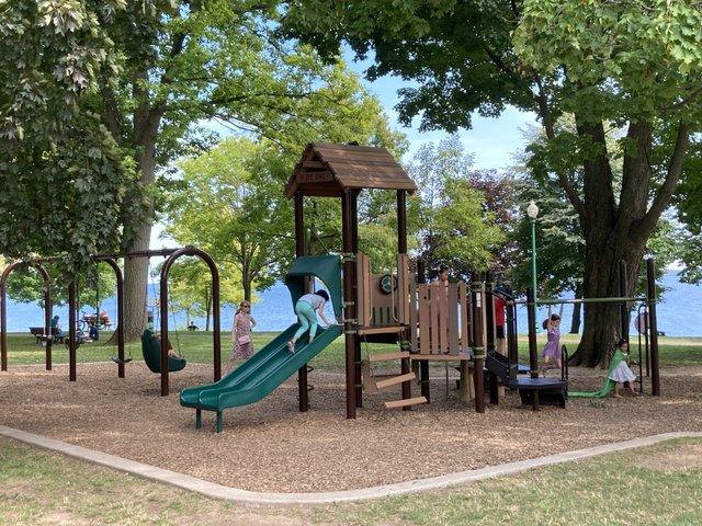 Lakeside Park Summer 2020 play structure