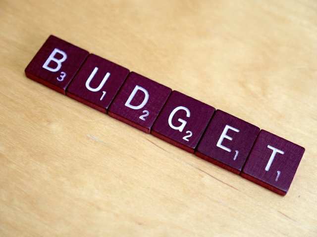 Halton 2019 Budget spelled out in Scrabble Letters