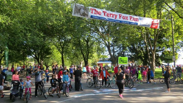 September 15th thru 16th Terry Fox Run