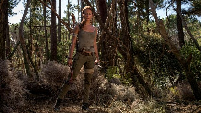 Review for the new adventure film TOMB RAIDER, opening in theatres March 16th 2018.