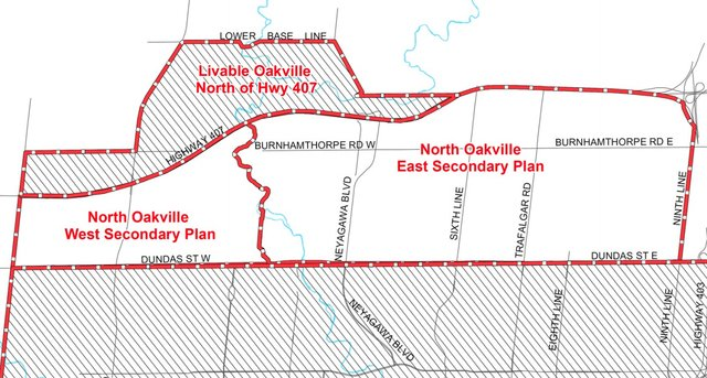 North Oakville East and West Secondary Plans