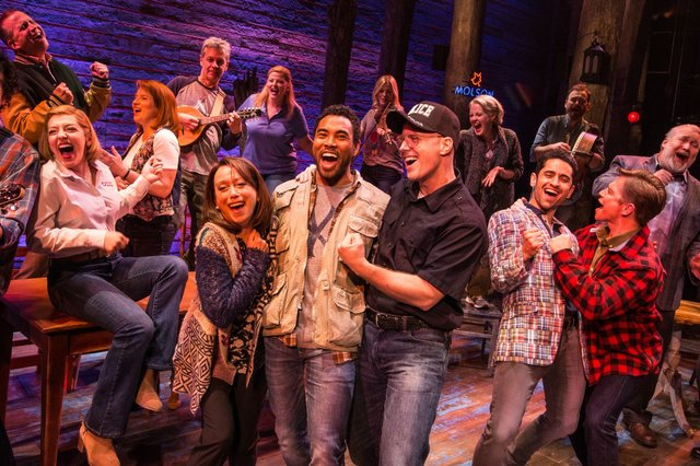 Review for the new sit-down Toronto production of COME FROM AWAY, now playing at the Royal Alexandra Theatre.