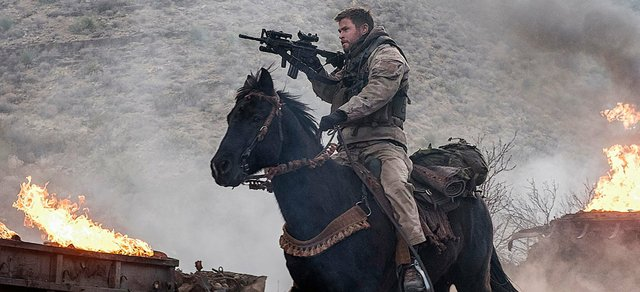 Movie Review for the new war action drama 12 STRONG, now playing in theatres.