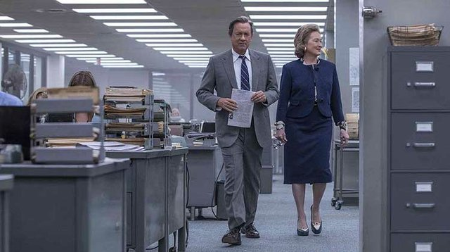Review for Steven Spielberg's new political thriller THE POST, opening in theatres January 12th 2018.