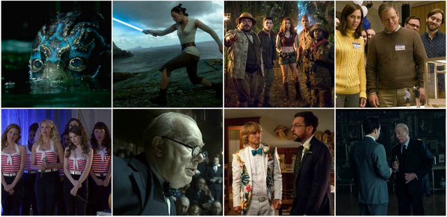 A collection of short reviews for new movies now playing in cinemas for the 2017 holiday season.