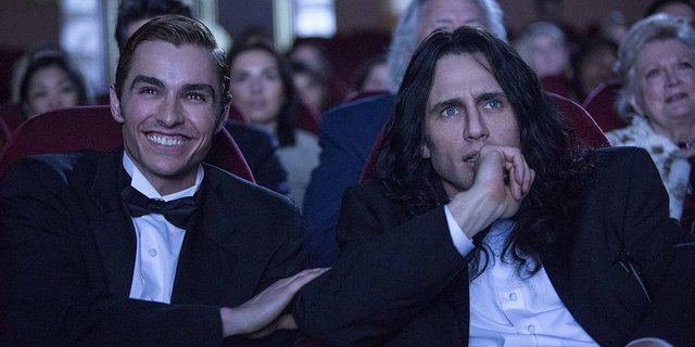 Review for the new comedy biopic THE DISASTER ARTIST, opening in theatres December 8th 2017.