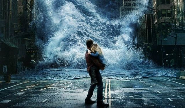 Film review of the new disaster epic GEOSTORM, opening in theatres Friday, October 20th 2017.