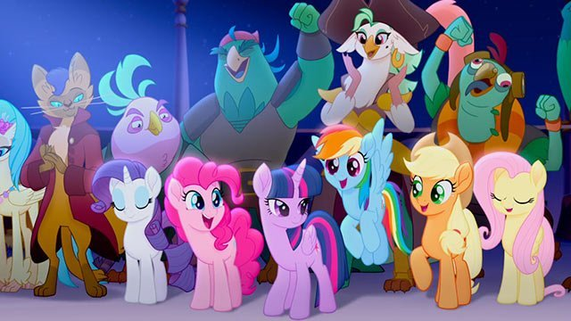 Film review for the new animated musical MY LITTLE PONY, now playing in cinemas.