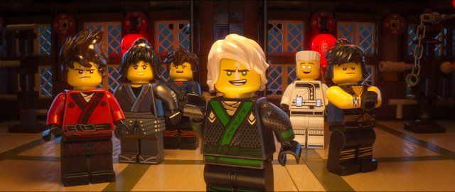 Movie Review for the new animated family fantasy THE LEGO NINJAGO MOVIE, now playing in theatres.