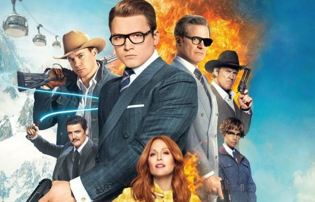 Review for the new action spy comedy KINGSMAN: THE GOLDEN CIRCLE, opening in theatres September 22, 2017.