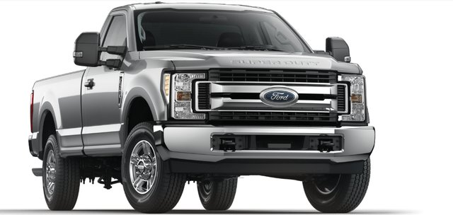 Commercial Vehicles Green Program Ford F-350