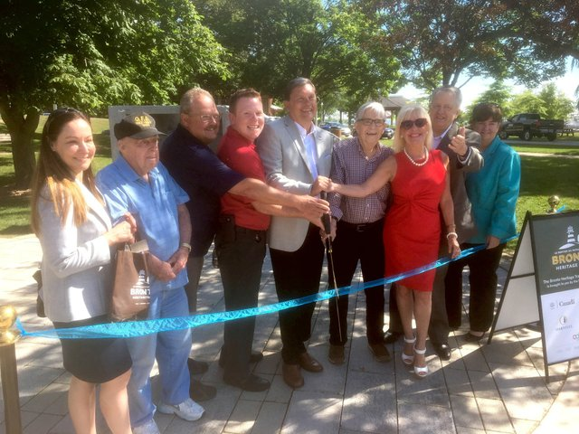 Bronte Village History, Trail Opening, July 2017, Oakville, Ontario