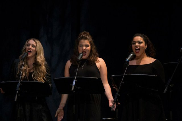 Canadian Music Theatre Project 2017. student performers at the cmtp festival of new musicals