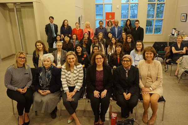 Young Women in Leadership Reception Oakville North-Burlington