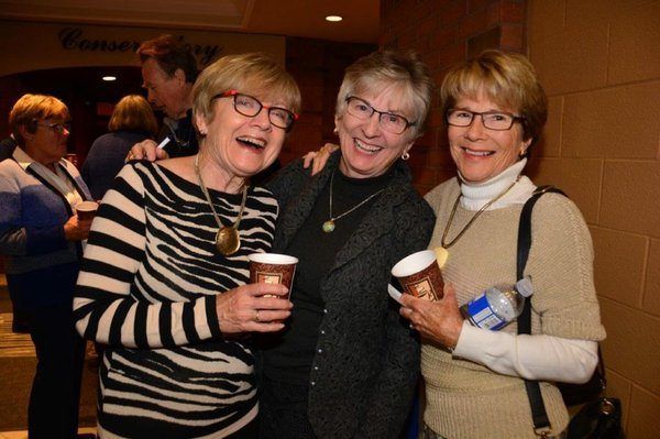 CFUW Oakville Ladies: Mary Lloyd, Sue Logan & Kelsey Mason