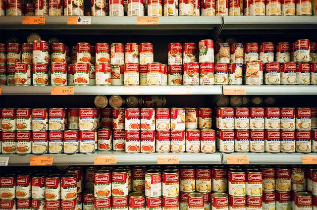 Campbell Soup Cans,