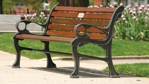 Approved Downtown Oakville bench