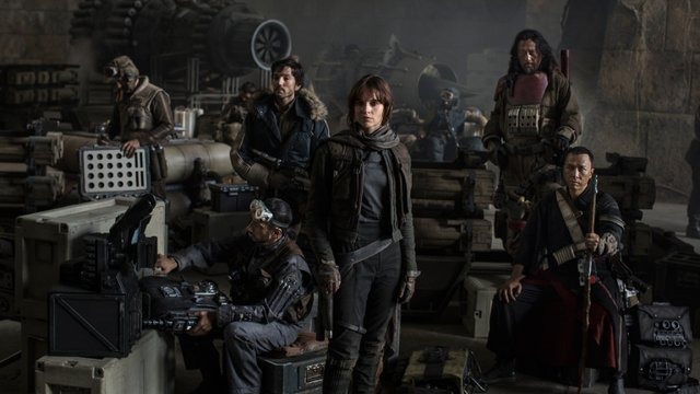 Review for the new Sci-Fi Fantasy blockbuster ROGUE ONE, opening in theatres December 16th, 2016.