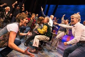 The cast of Come From Away. (Mirvish Productions).