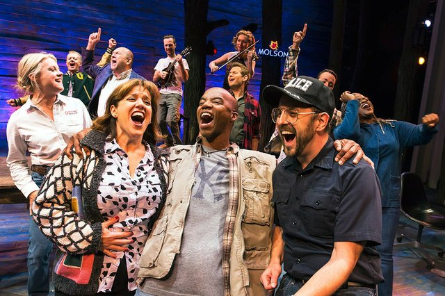 Theatre review for the new Canadian musical blockbuster Come From Away, playing now until January 8th, 2017 at Toronto's Royal Alexandra Theatre.