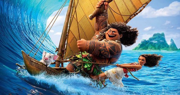 """Review for the new Disney animated musical """"Moana"""", opening in theatres November 23rd, 2016."""