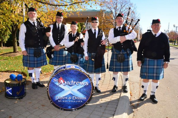 St. Andrews Pipes & Drums