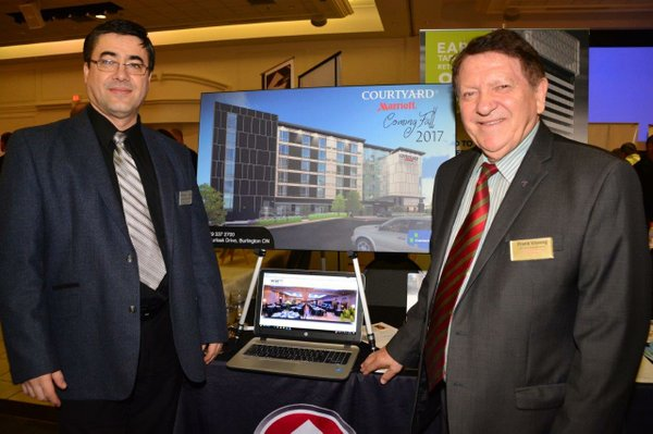"""Rab and Hotel Owner, Frank Vismeg; """"Every large business was once a small business!"""""""