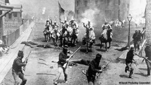 "Image from the 1916 film ""The Birth of a Nation"". (Epoch Producing)."
