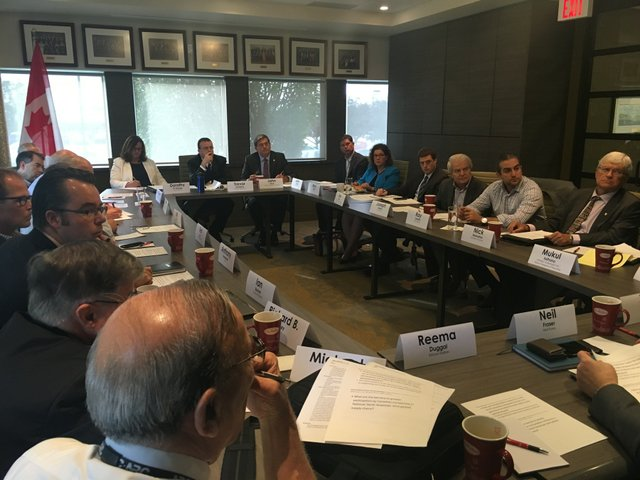 Meeting at Chamber of Commerce
