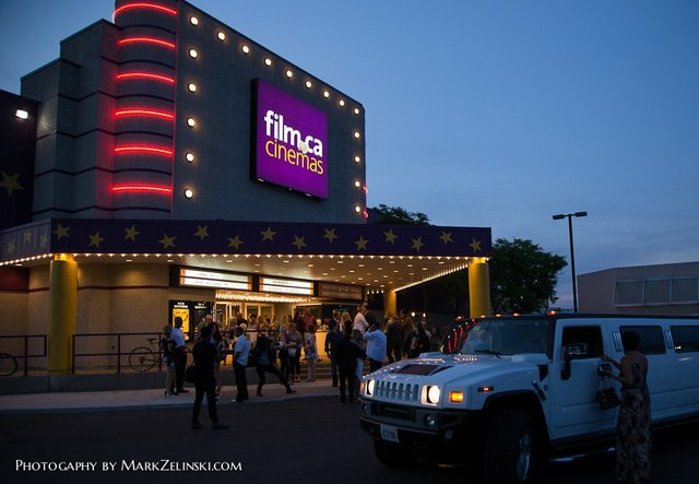 Arrival at Film.Ca Cinemas for the sold out world premiere of SCRATCH by Director Maninder Chana.