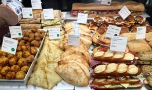 Sandwiches in Display