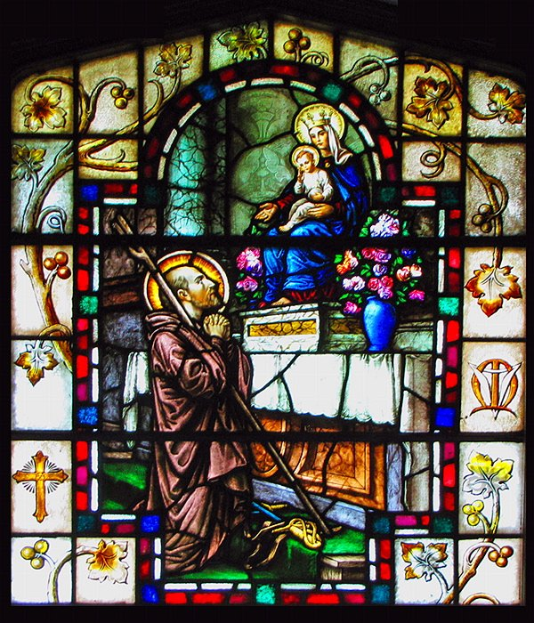 Stained Glass Window of Ingnatius