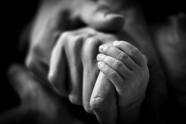 Hands in Embrace